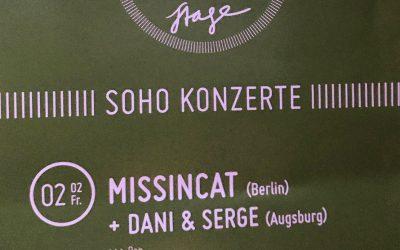 DUS LIVE! als Vorband von Missincat!